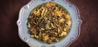 Pork and Greens Recipe from domesticsoul.com