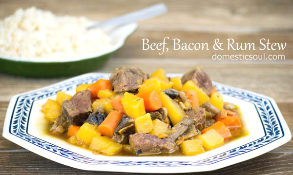 Beef, Bacon & Rum Stew Recipe