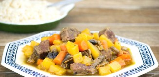 Beef, Bacon and Rum Stew from domesticsoul.com